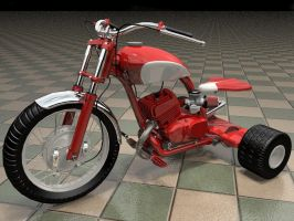Lunacycle, rendering 130 by MarcelloRupelli