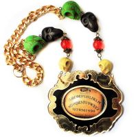 Ouija Board Necklace by asunder