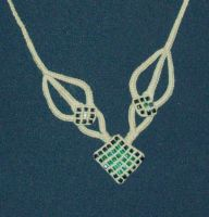 """Necklace """"Elvan Leaves"""" by Peter-The-Knotter"""