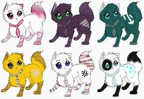 Adoptable cats 5 by Jingle2626