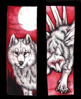 A-RUKU bookmarks by Suenta-DeathGod