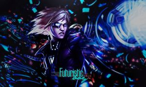 Futuristic Boy | Signature | Photoshop by CagBcn