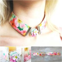 Choker Collar Necklace by IrenkaR