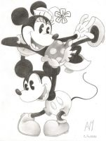 Minnie and Mickey 2 by Picolicas