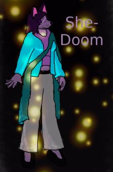 'She-doom' Colored and Covered by EX2000