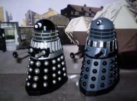 Renegade Daleks by CyberDrone