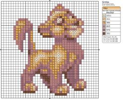 Simba by Makibird-Stitching