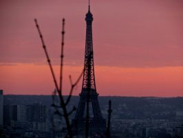 Eiffel at Dusk by Michies-Photographyy