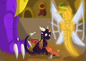 Brothers Through the Generations by SighriaDragoness12