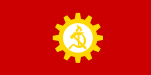 Communist State flag by NRE86