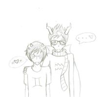 Sollux X Eridan C: by crazy-chick29