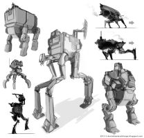 Mech Sketches by Devin87