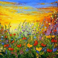 FIELD OF JOY by ARTBYTERESA