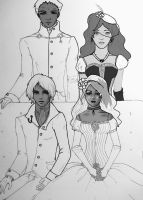 TMI: The Morgensterns WIP by Aleatoire09