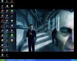 Gman Desktop by CaptainBaconMan