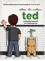 Ted Poster- Family Guy Style by GmannyTheAnimator