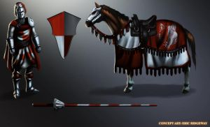 Medieval Jouster concept by Emortal982