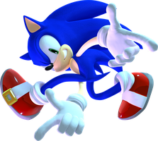 Sonic Adventure Pose (New 2015) by mateus2014