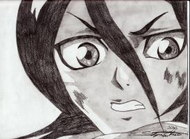 Rukia Shocked by Elessara91