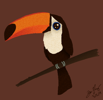 Toucan Quickie by MintMaker