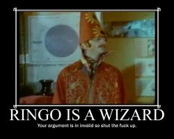 Ringo is a Wizard by Like-A-British-Guy
