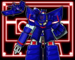 Soundwave Redux by Mr-Alexander