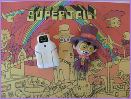Chibi-Charms: Superjail by MandyPandaa
