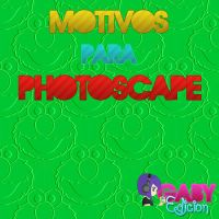 Pack Con 23 Motivos Para PhotoScape by EditionesGaby
