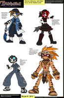 Disgaea NC: Bonus Characters and Concepts by Firewarrior117