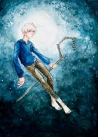 Jack Frost - Rise of the Guardians by geheichous