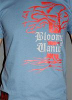 BLOOMS OF VANITY T' Design by LOOXISH