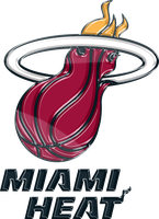 Miami Heat 3D Logo by Rico560