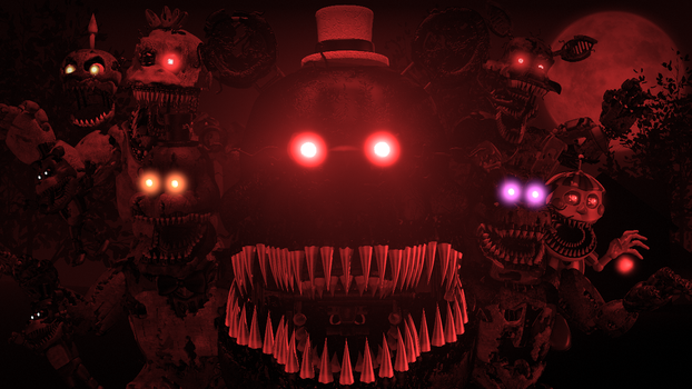 Break My Mind [REDO] (fnaf sfm) by JR2417