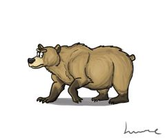 Grizzly Bear by Louisetheanimator