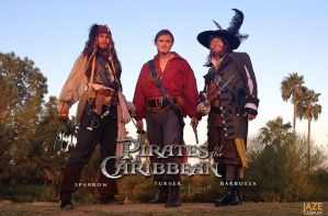 Pirates of the Caribbean Cosplay by captainjaze