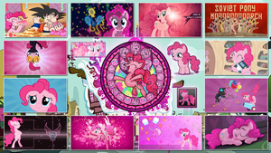 Pinkie Pie Stained Wallpapers by GT4tube