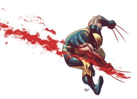 Wolverine by Marcelo-Costa