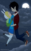 I'll take you to the moon.. by flodoyle