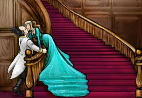 Babylon5 Staircase Kiss2 by jameson9101322
