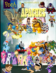 Pooh's Adventures of Apaches Poster by Theautisticonenamedm