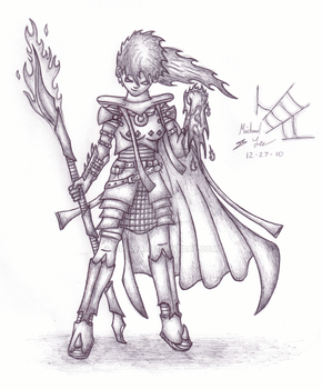 Skillcape:01 - Attack -Sketch- by iSpiider