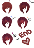 Hair Tutorial: Kou Painting Style~ by Kouwaii