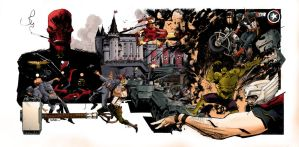 The Avengers by Sean Murphy by patoftherick