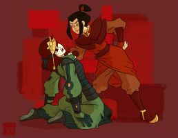 Com: Victorious Azula by VeloursRose