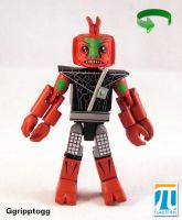 Ggripptogg Power Lords Custom Minimate by luke314pi