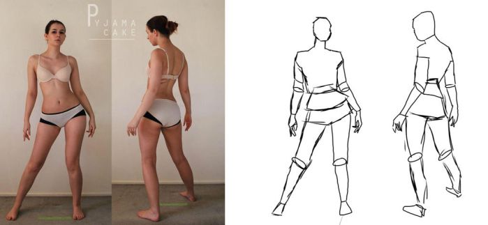 PART TWO - Figure Drawing by Foxyisgoodtribe