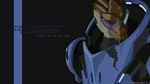 Garrus Vakarian Wallpaper by RainbowxPlague