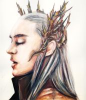 Elvenking of the Woodland Realm  - THRANDUIL by Farbenfrei