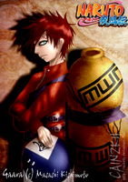Gaara : 5th Kazekage by CainzKy