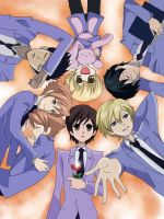 ouran highschool host club by LeLuigiLu